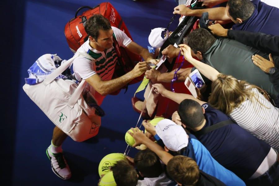 Federer fans