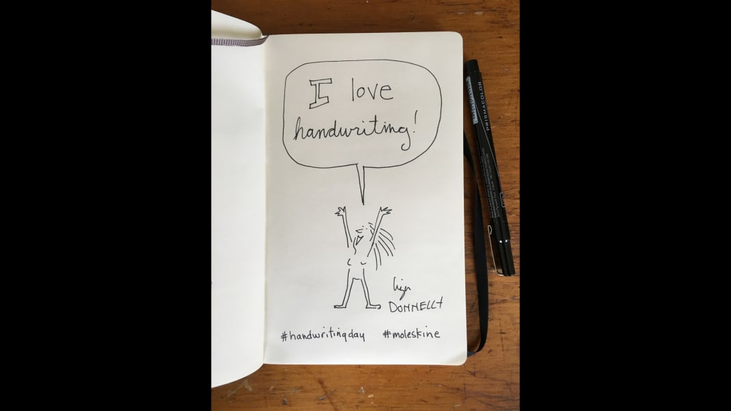 08 national handwriting day