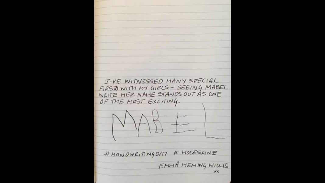 09 national handwriting day