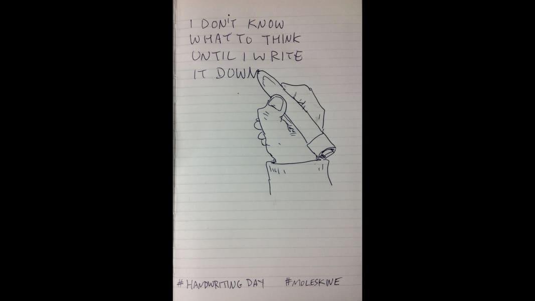 10 national handwriting day