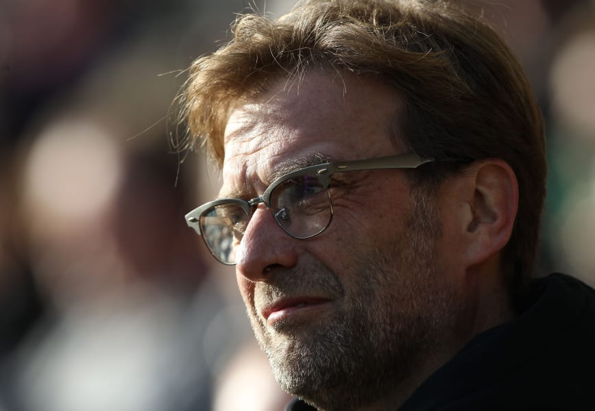 klopp norwich with glasses
