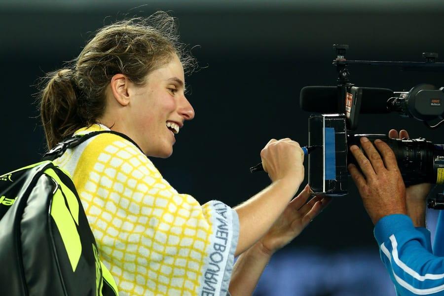 Konta Australian Open