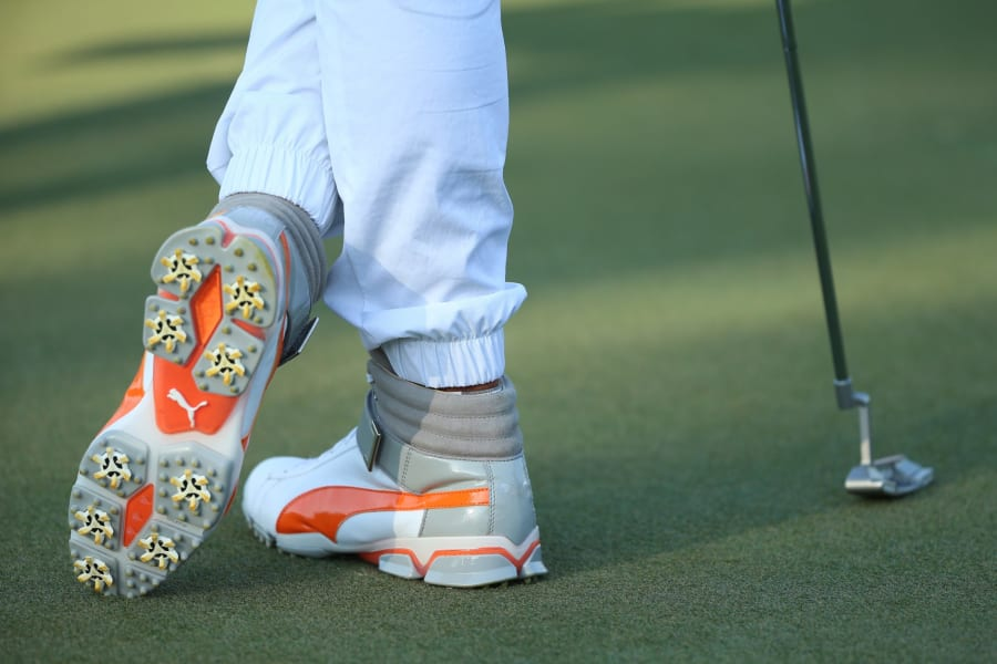 Golf fashion: From plus fours to high-tops