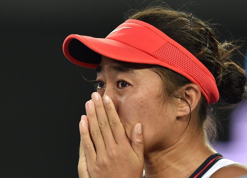 zhang shuai cries
