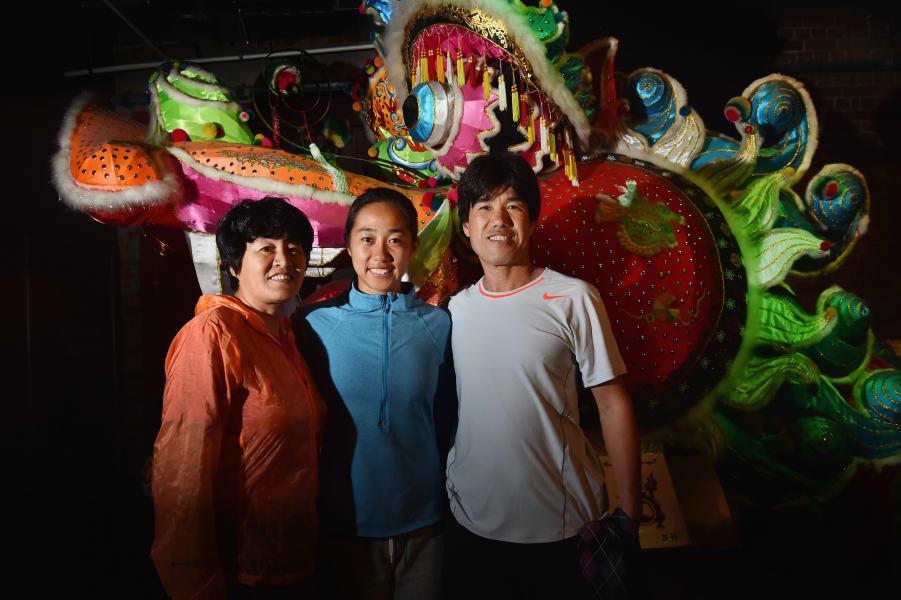 zhang shuai parents