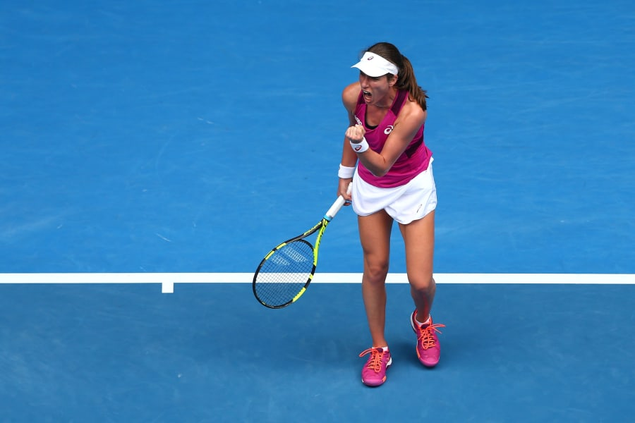 Konta Zhang Australian Open