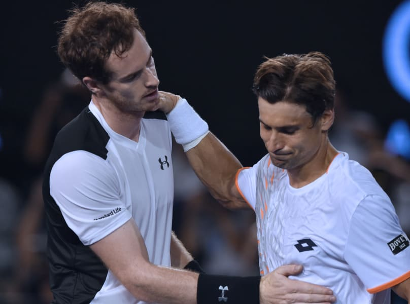 Murray Ferrer Australian Open