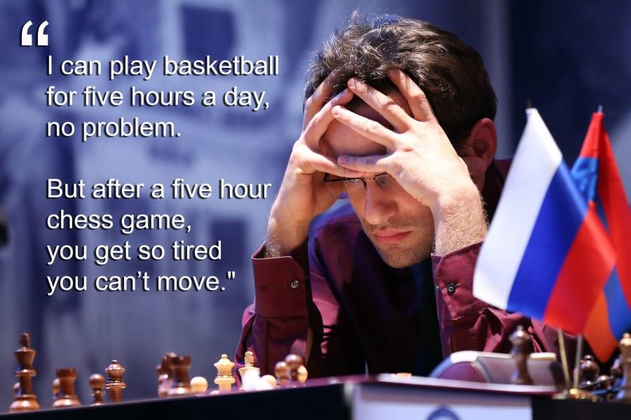 levon aronian chess tired
