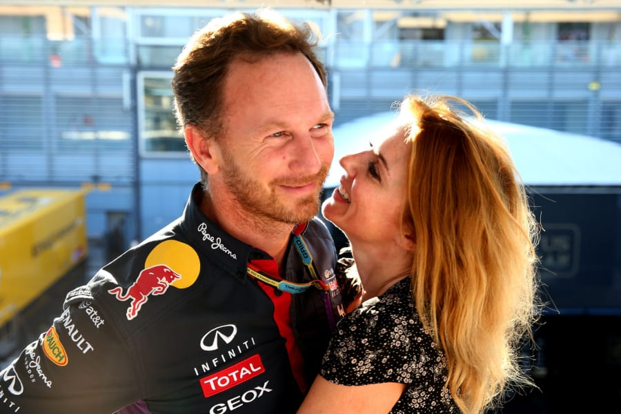 christian horner and gerry halliwell