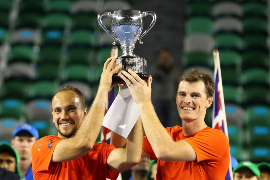Men's doubles Jamie Murray