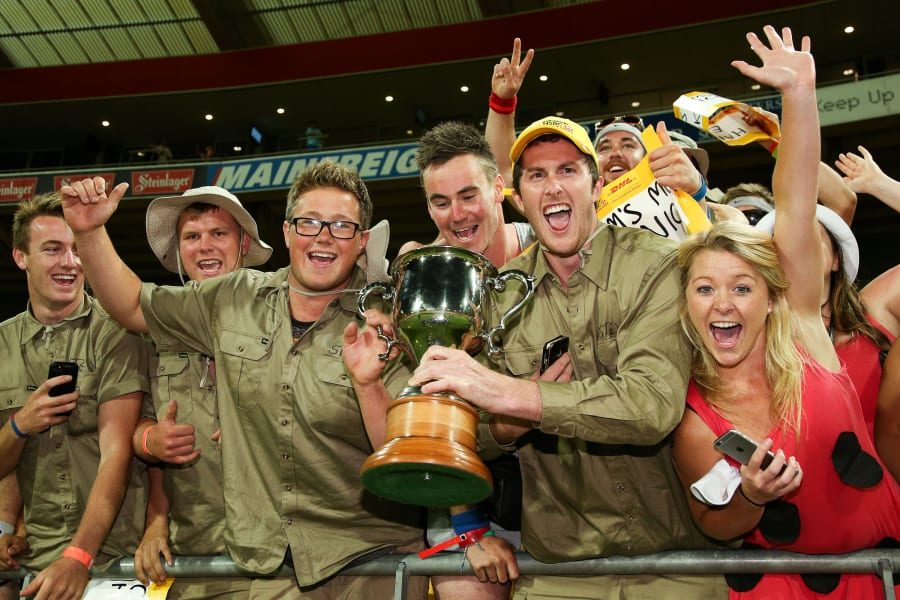 Wellington 7s fans