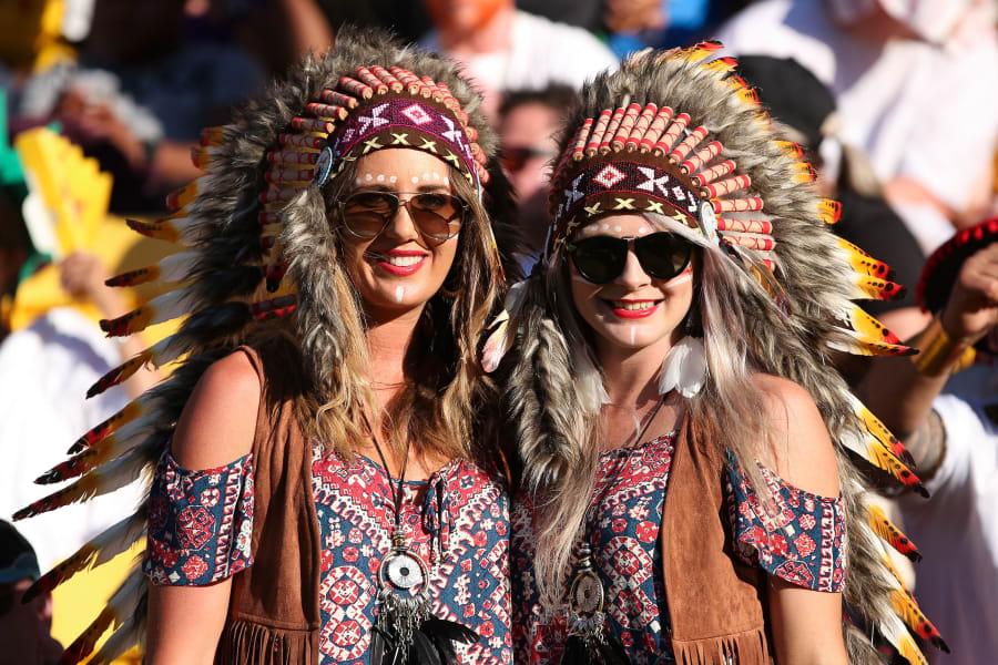 Wellington 7s fans native americans
