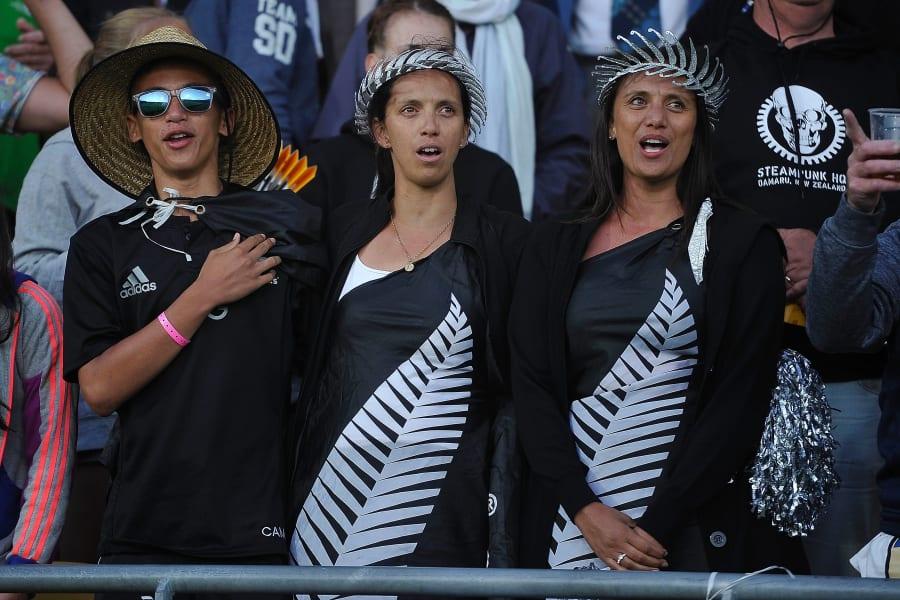 Wellington 7s fans New Zealand