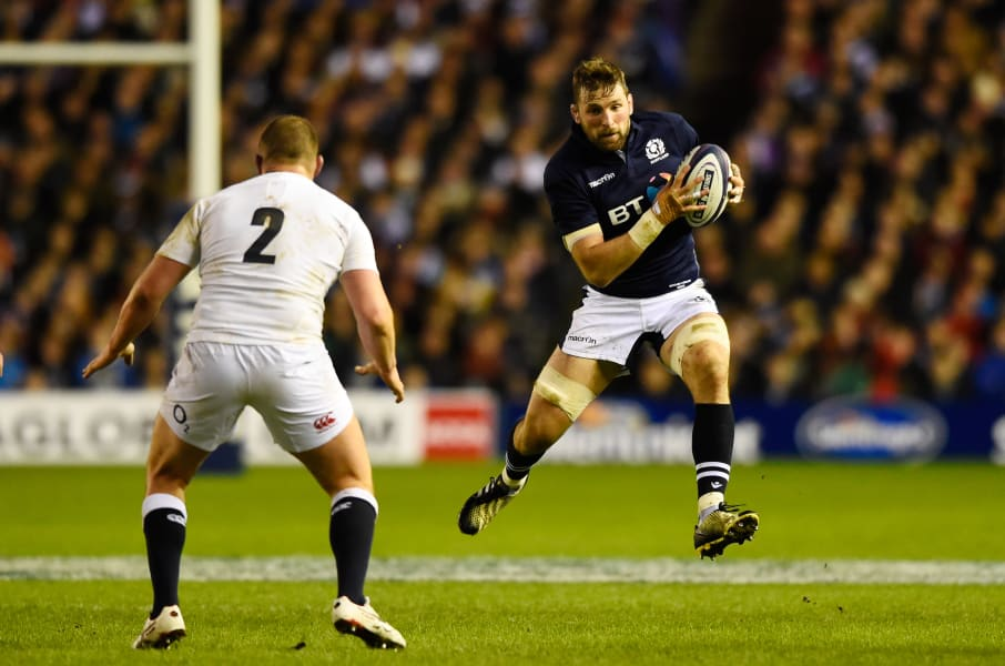 John Barclay of Scotland Rugby Union