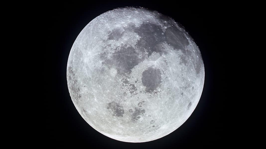 Full moon from Apollo 11