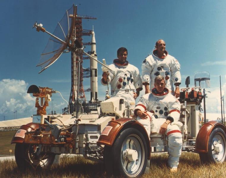 Apollo 17 crew photo