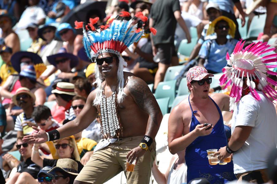 Sydney sevens fan