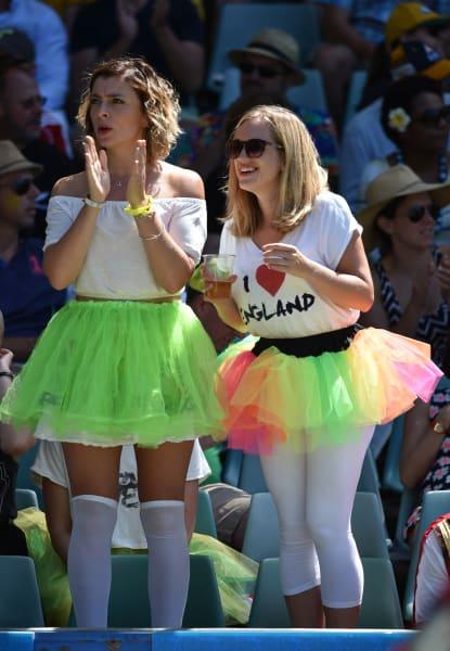Sydney sevens fans england