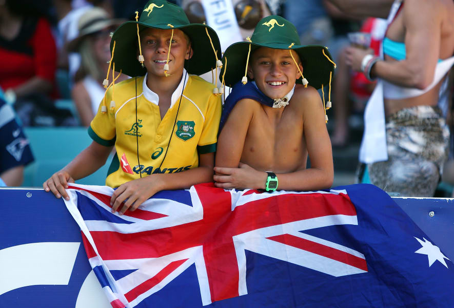 Sydney sevens fans Australia