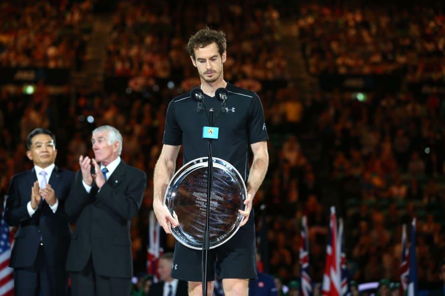 Andy Murray runner-up speech Australian Open