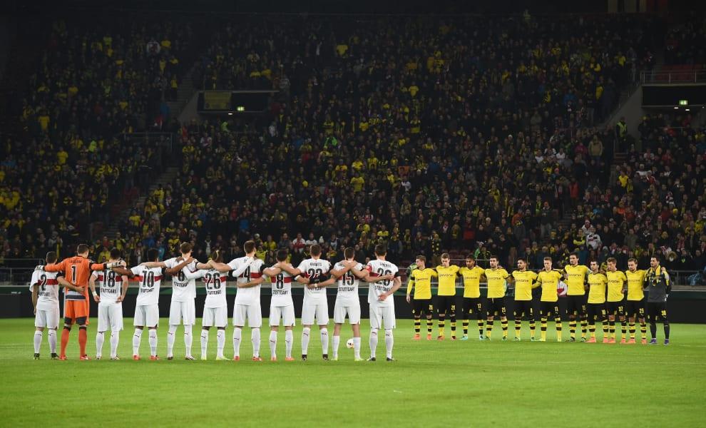 Dortmund football minute silence