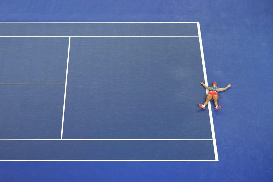 Kerber match point