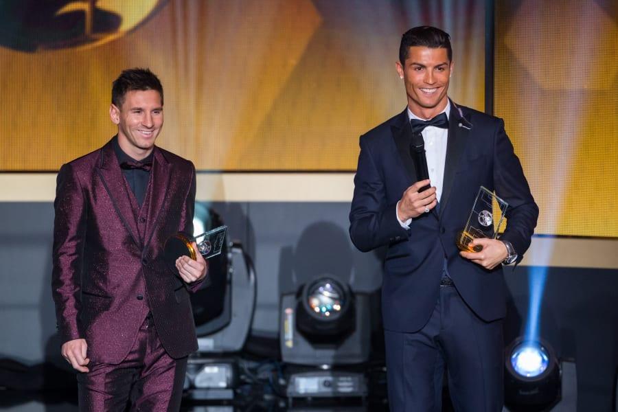 Messi Ronaldo Ballon d'Or