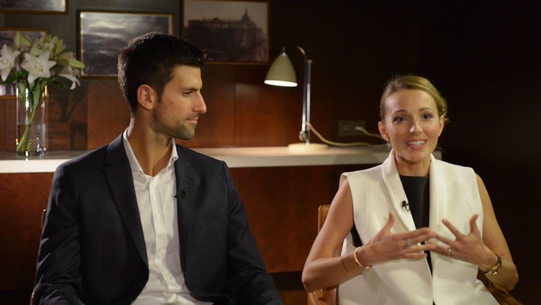 Novak & Jelena Djokovic