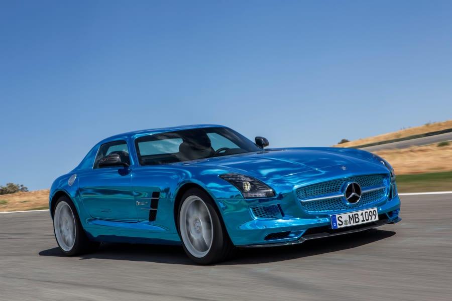 Mercedes SLS AMG Electric Drive 1