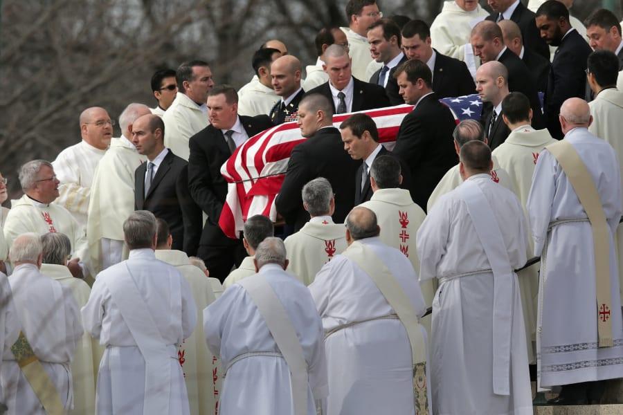 20 scalia funeral 0220 casket leaving