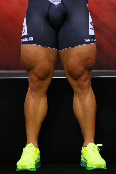 Robert Forstemann thighs tease