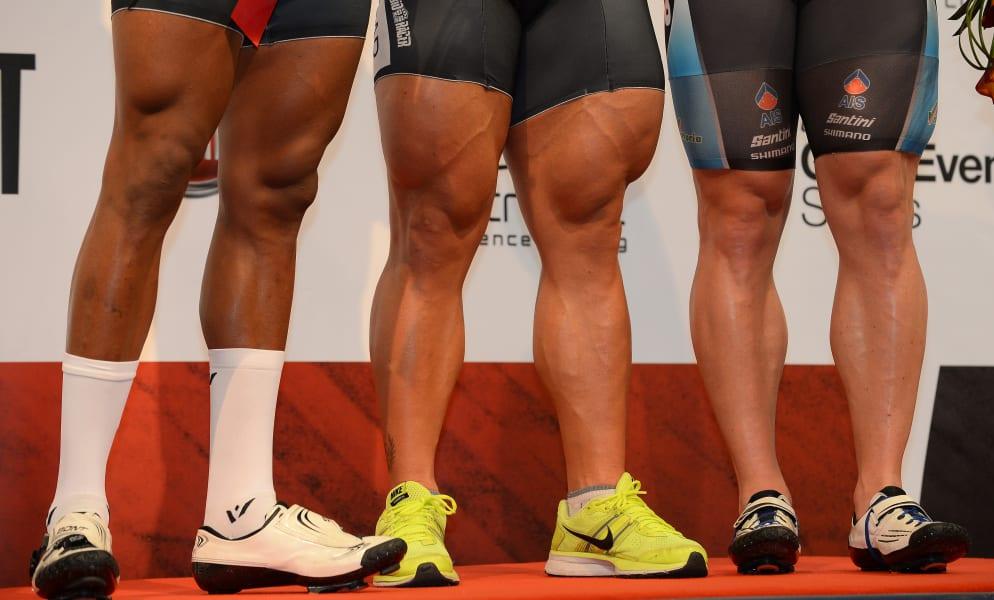thighs cycling