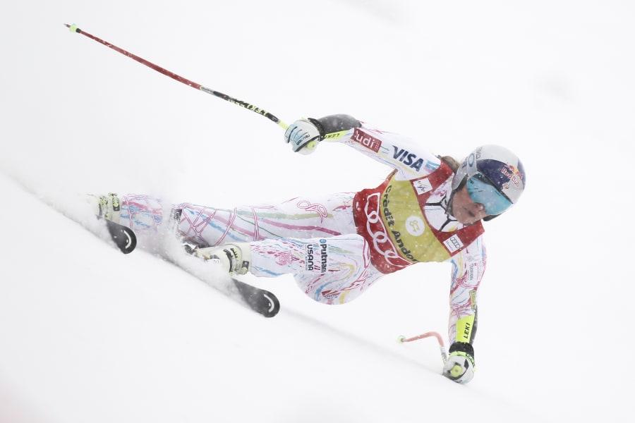 Lindsey Vonn slope andora