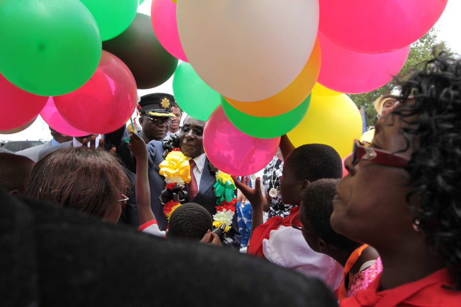 mugabe 92nd bday 7