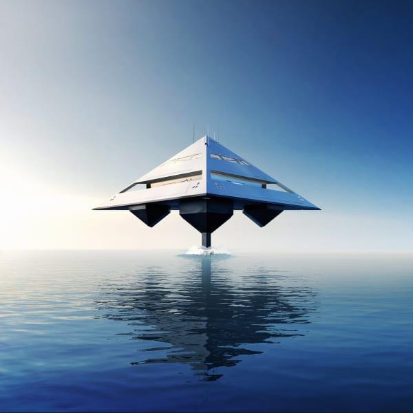 Tetrahedron Super Yacht 2