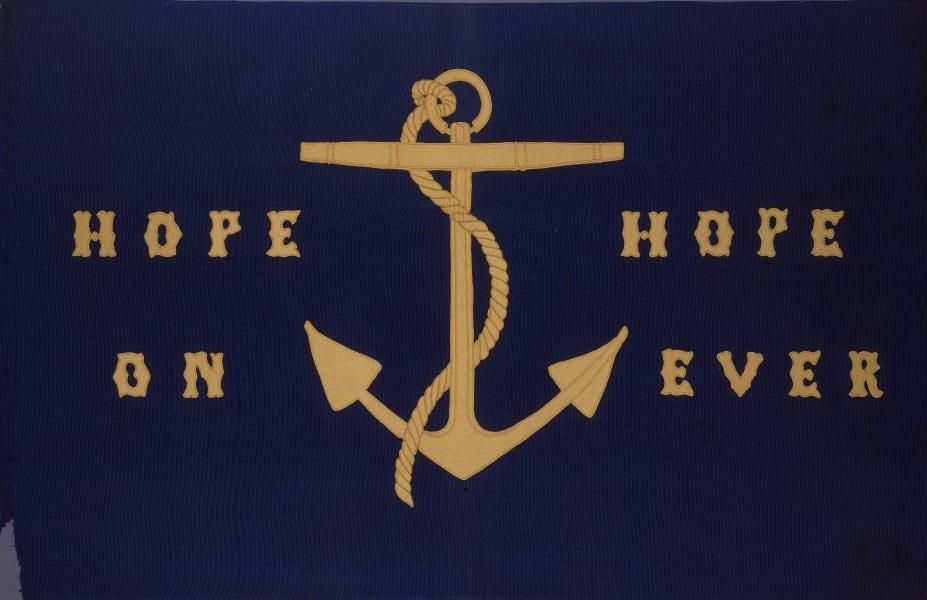 maritime museum flags anchor