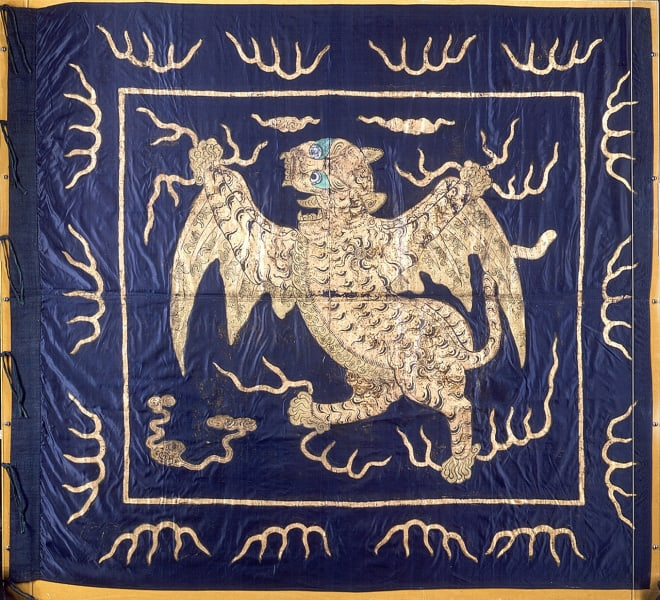 maritime museum chinese flag