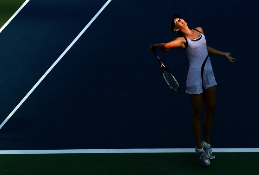 Maria Sharapova u.s. open