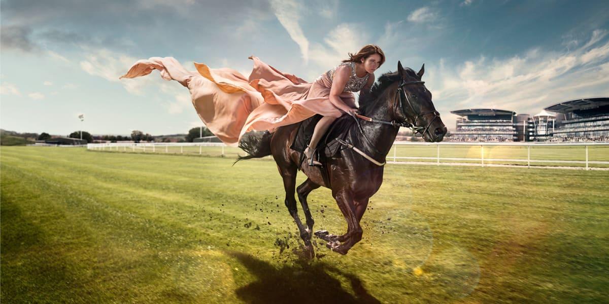 katie walsh racing dress