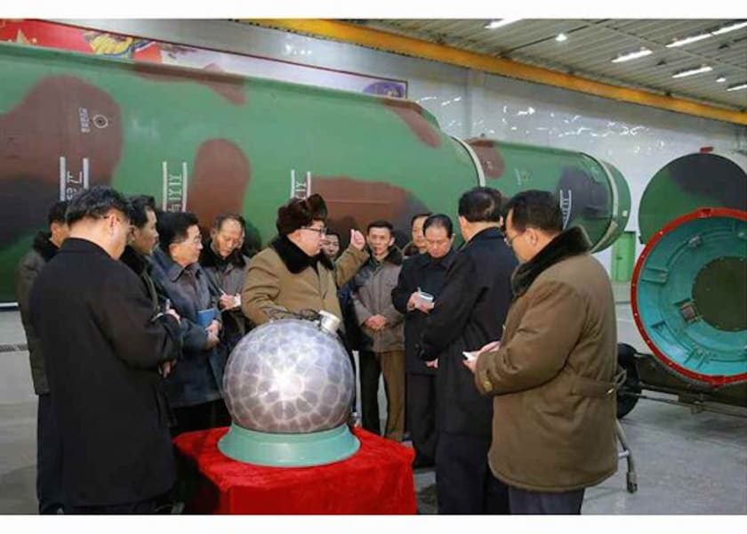 North Korea warhead 1