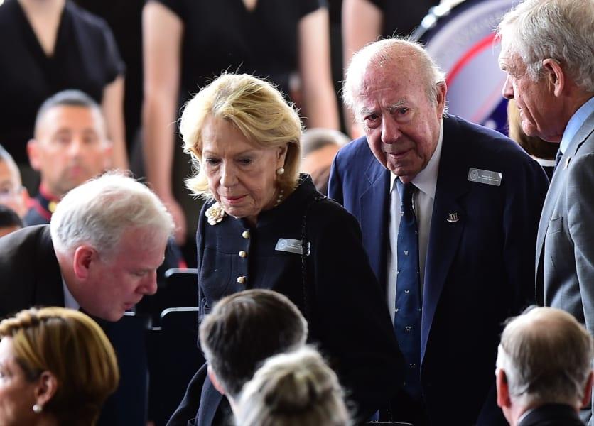 10.nancy reagan funeral