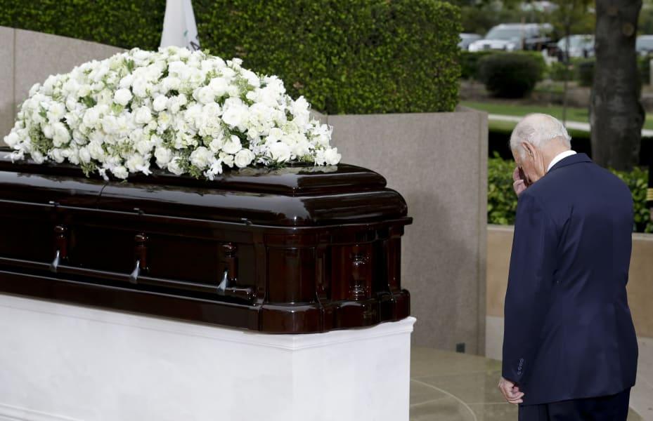 17 nancy reagan funeral - RESTRICTED