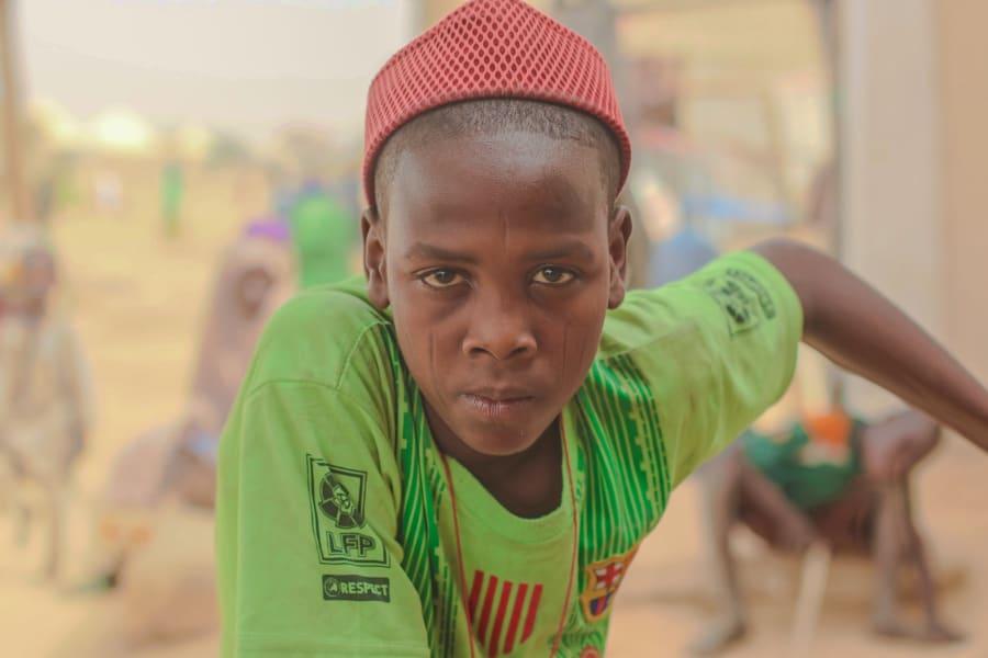 boko haram portraits Ibrahim