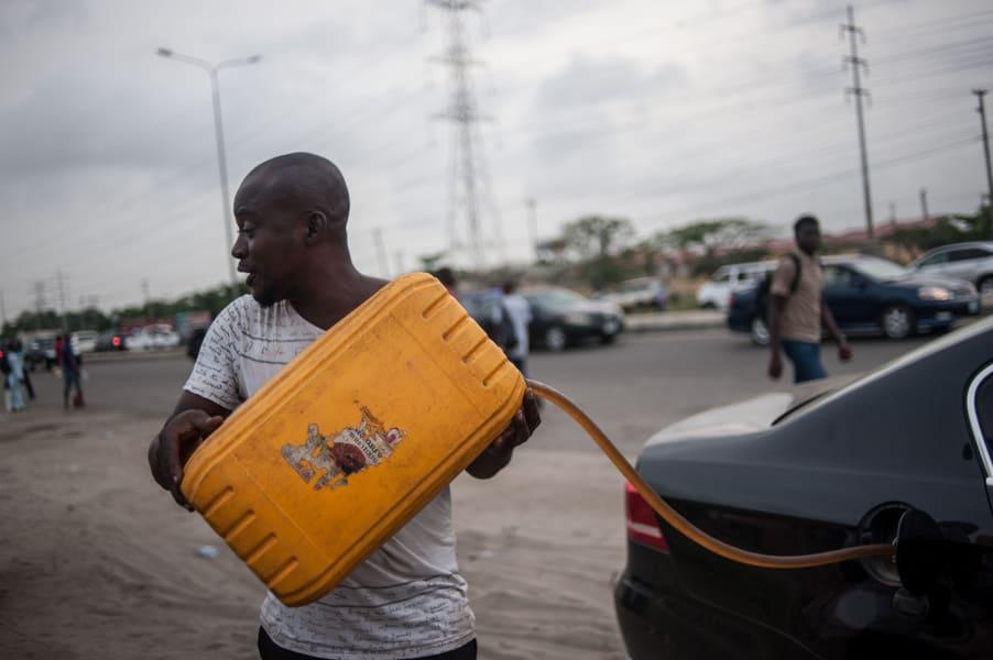nigeria fuel black market