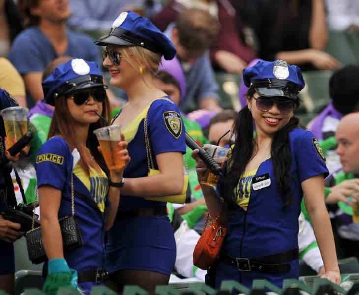 Hong Kong Sevens policewomen