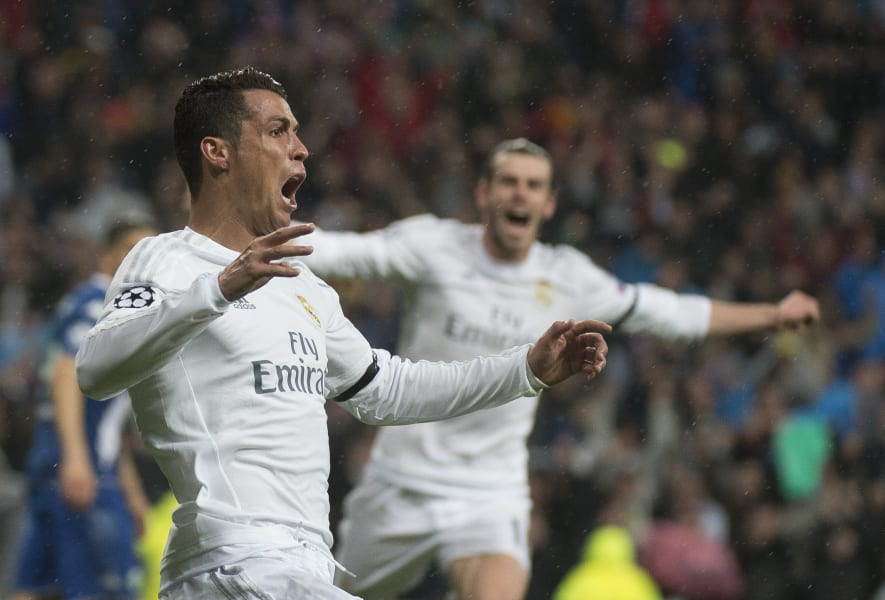 Cristiano Ronaldo roar