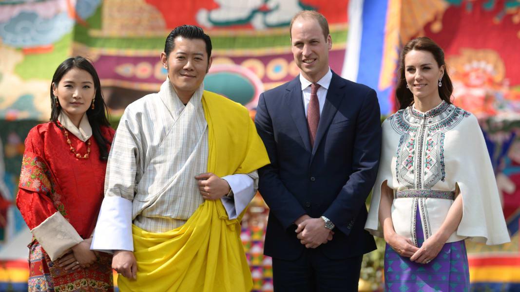 Royals Visit India