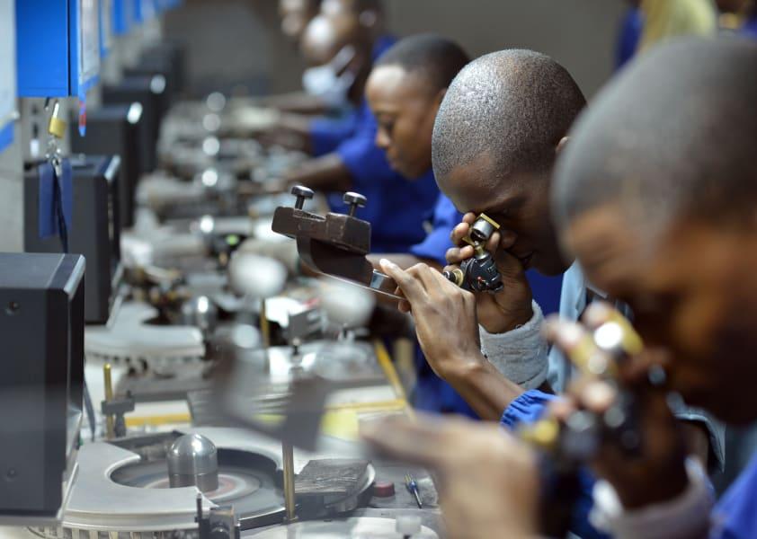 botswana diamond polishing