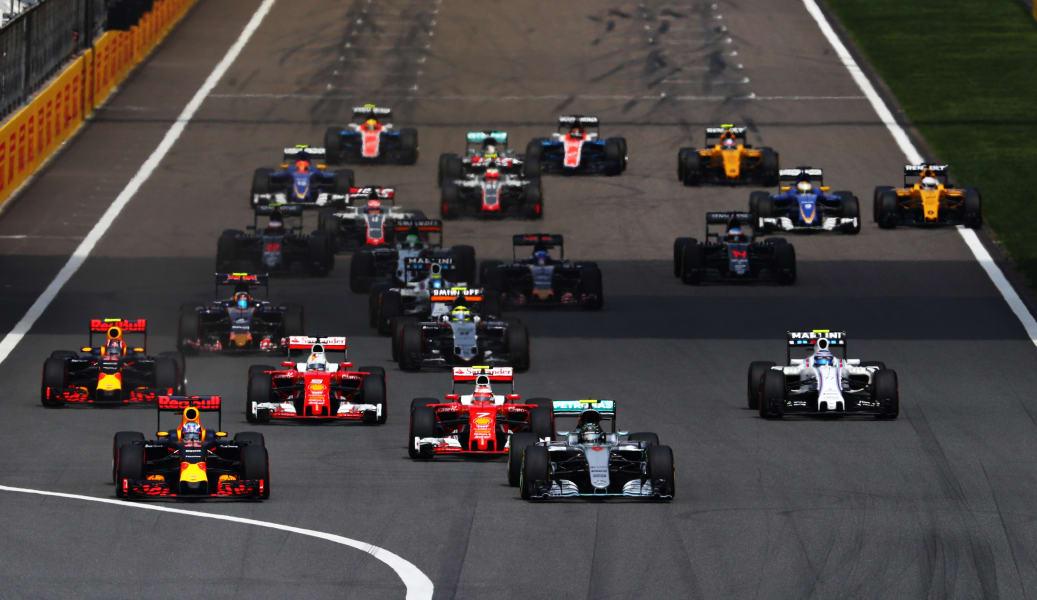 Daniel Ricciardo of Australia F1