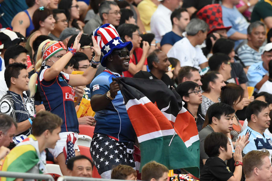 Rugby Sevens fans 1